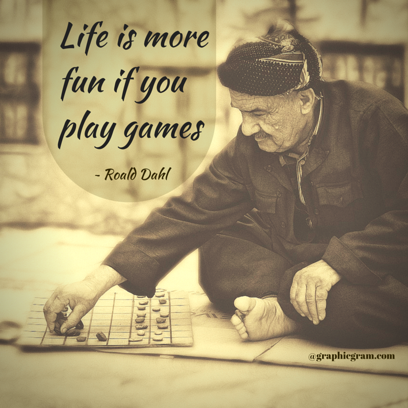 Life is more fun